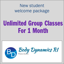 new student welcome package unlimited group classes for 1 month